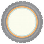 Kaisercraft - On the Move Collection - 12 x 12 Die Cut Paper - Fuel