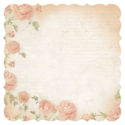 Kaisercraft - Charlottes Dream Collection - 12 x 12 Die Cut Paper - Contemplate