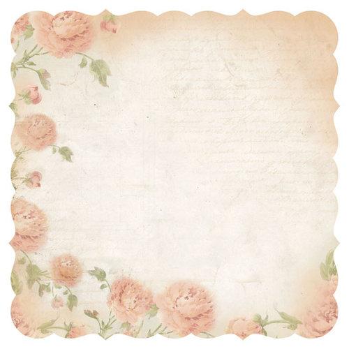 Kaisercraft - Charlottes Dream Collection - 12 x 12 Die Cut Paper - Contemplate