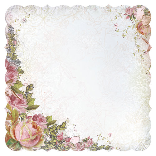 Kaisercraft - The Lakehouse Collection - 12 x 12 Die Cut Paper - Break