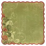 Kaisercraft - Twig and Berry Collection - Christmas - 12 x 12 Die Cut Paper - Greetings