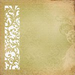 Kaisercraft - Turtle Dove Collection - Christmas - 12 x 12 Die Cut Paper - Delicate