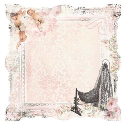 Kaisercraft - Bundle of Joy Collection - 12 x 12 Die Cut Paper - It's a Girl