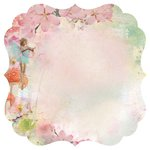Kaisercraft - Enchanted Garden Collection - 12 x 12 Die Cut Paper - Believe