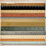 Kaisercraft - Mister Fox Collection - 12 x 12 Perforated Paper - Rulers