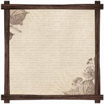 Kaisercraft - Outdoor Trail Collection - 12 x 12 Die Cut Paper - Scrub