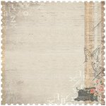 Kaisercraft - Rustic Harmony Collection - 12 x 12 Die Cut Paper - Calm