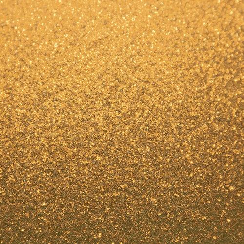 Kaisercraft - All That Glitters Collection - 12 x 12 Glitter Paper - Gold
