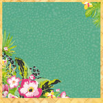 Kaisercraft - Say Aloha Collection - 12 x 12 Paper with Glossy Accents - Tropical