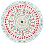 Kaisercraft - Fiesta Collection - 12 x 12 Die Cut Paper - Loco