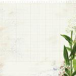 Kaisercraft - Botanica Collection - 12 x 12 Die Cut Paper - Vine