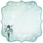 Kaisercraft - Fairy Dust Collection - 12 x 12 Die Cut Paper - Glimmer
