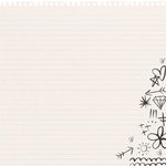Kaisercraft - Hashtag Me Collection - 12 x 12 Die Cut Paper - Notes