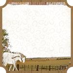 Kaisercraft - Old Mac Collection - 12 x 12 Die Cut Paper - Land