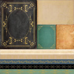 Kaisercraft - Story Book Collection - 12 x 12 Paper with Foil Accents - Book Covers