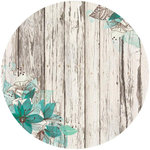 Kaisercraft - Sea Breeze Collection - 12 x 12 Paper with Glossy Accents - Pond