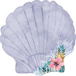 Kaisercraft - Mermaid Tails Collection - 12 x 12 Die Cut Paper - Clam Shell