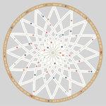 Kaisercraft - Boho Dreams Collection - 12 x 12 Die Cut Paper - Dreamcatcher