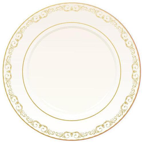 Kaisercraft - Bon Appetit Collection - 12 x 12 Die Cut Paper with Foil Accents - Plate