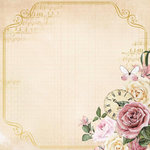 Kaisercraft - Mademoiselle Collection - 12 x 12 Paper with Foil Accents - Timeless