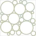 Kaisercraft - Party Time Collection - 12 x 12 Die Cut Paper - Circles