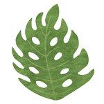 Kaisercraft - Island Escape Collection - 12 x 12 Die Cut Paper - Palm Leaf