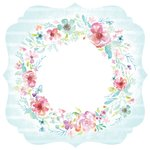 Kaisercraft - Wildflower Collection - 12 x 12 Die Cut Paper - Bracket