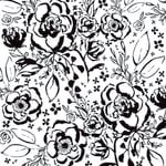 Kaisercraft - Wildflower Collection - 12 x 12 Paper with Glossy Accents - Floral