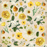 Kaisercraft - Golden Grove Collection - 12 x 12 Paper with Glossy Accents - Harvest