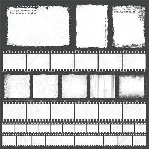 Kaisercraft - Keepsake Collection - 12 x 12 Acetate Paper - Photo Frames