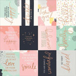 Kaisercraft - Daydreamer Collection - 12 x 12 Paper with Foil Accents - Happy Moments