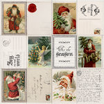 Kaisercraft - Letters to Santa Collection - Christmas - 12 x 12 Perforated Paper - Wishlist