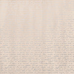 Kaisercraft - Rose Avenue Collection - 12 x 12 Paper with Foil Accents - Silver Notes