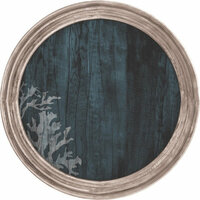 Kaisercraft - Beach Shack Collection - 12 x 12 Die Cut Paper - Porthole