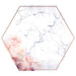 Kaisercraft - Misty Mountains Collection - 12 x 12 Die Cut Paper - Hexagon