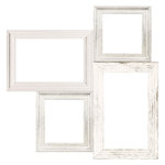 Kaisercraft - Full Bloom Collection - 12 x 12 Die Cut Paper - Frame Cluster
