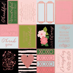 Kaisercraft - Full Bloom Collection - 12 x 12 Paper with Foil Accents - Blooming