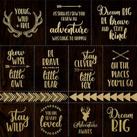 Kaisercraft - Hide and Seek Collection - 12 x 12 Paper with Foil Accents - Adventure