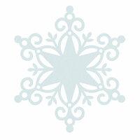 Kaisercraft - Wonderland Collection - Christmas - 12 x 12 Die Cut Paper - Snowflake