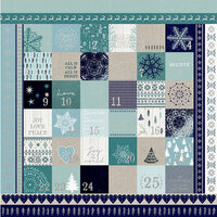 Kaisercraft - Wonderland Collection - Christmas - 12 x 12 Paper with Foil Accents - Advent