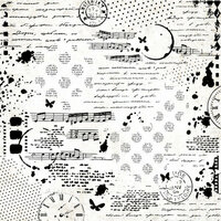 Kaisercraft - Scrap Studio Collection - 12 x 12 Paper with Glossy Accents - Collage