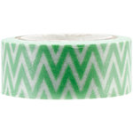 Kaisercraft - Printed Tape - Chevron Mint