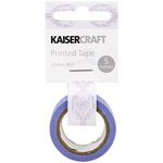 Kaisercraft - Printed Tape - Damask - Purple