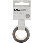 Kaisercraft - Glitter Tape - Silver