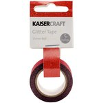 Kaisercraft - Glitter Tape - Red