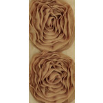 Kaisercraft - Ribbon - Roses - Large - Coffee
