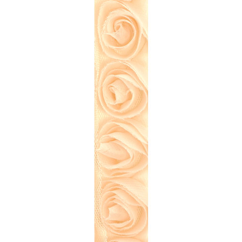 Kaisercraft - Ribbon - Roses - Ivory