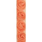 Kaisercraft - Ribbon - Roses - Coral