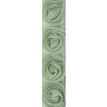 Kaisercraft - Ribbon - Roses - Mint