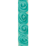 Kaisercraft - Ribbon - Roses - Sea Breeze